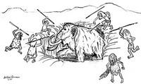 здор охота первобытных людей рисунки русского алфавита есть